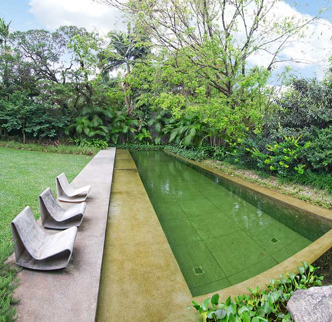 Natural Formal Pool